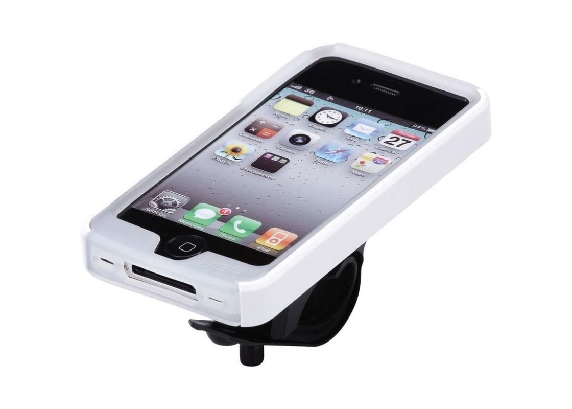 BSM-02 BΑΣH Smart phone patron I4S white Αξεσουάρ Ποδηλάτων zeussa.gr