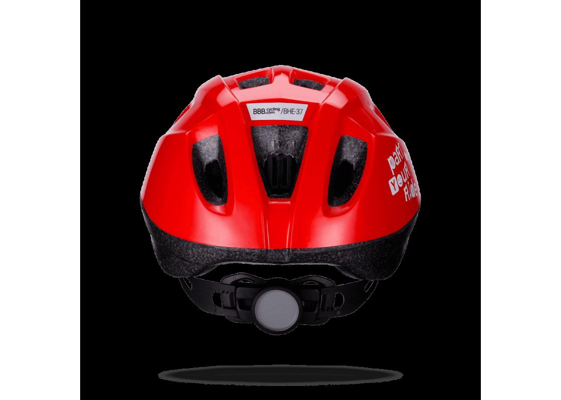 BHE-37 Boogy S κοκκινο (48-54cm) Κράνος zeussa.gr