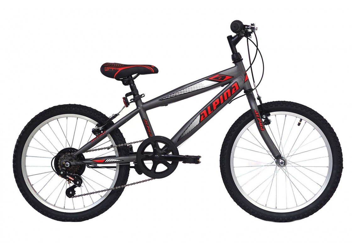 Alpina Alpha MTB 20x11 Anthracite Bikes zeussa.gr