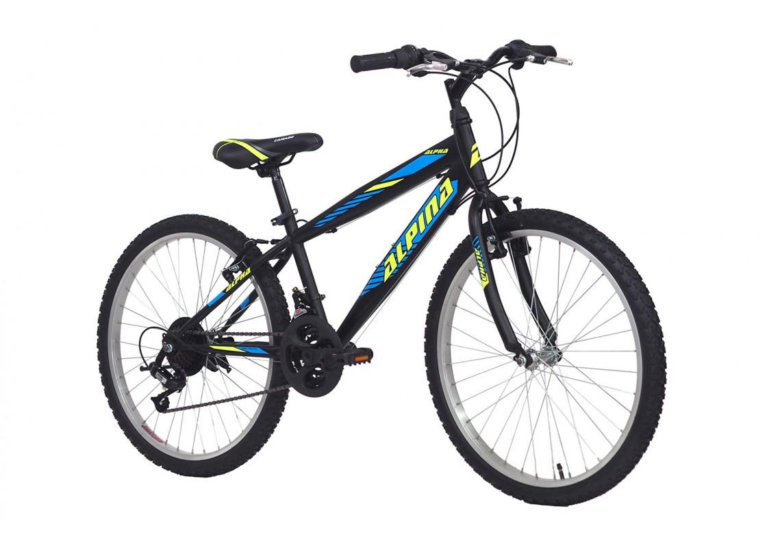 Alpina Alpha MTB 24x12 Black Bikes zeussa.gr