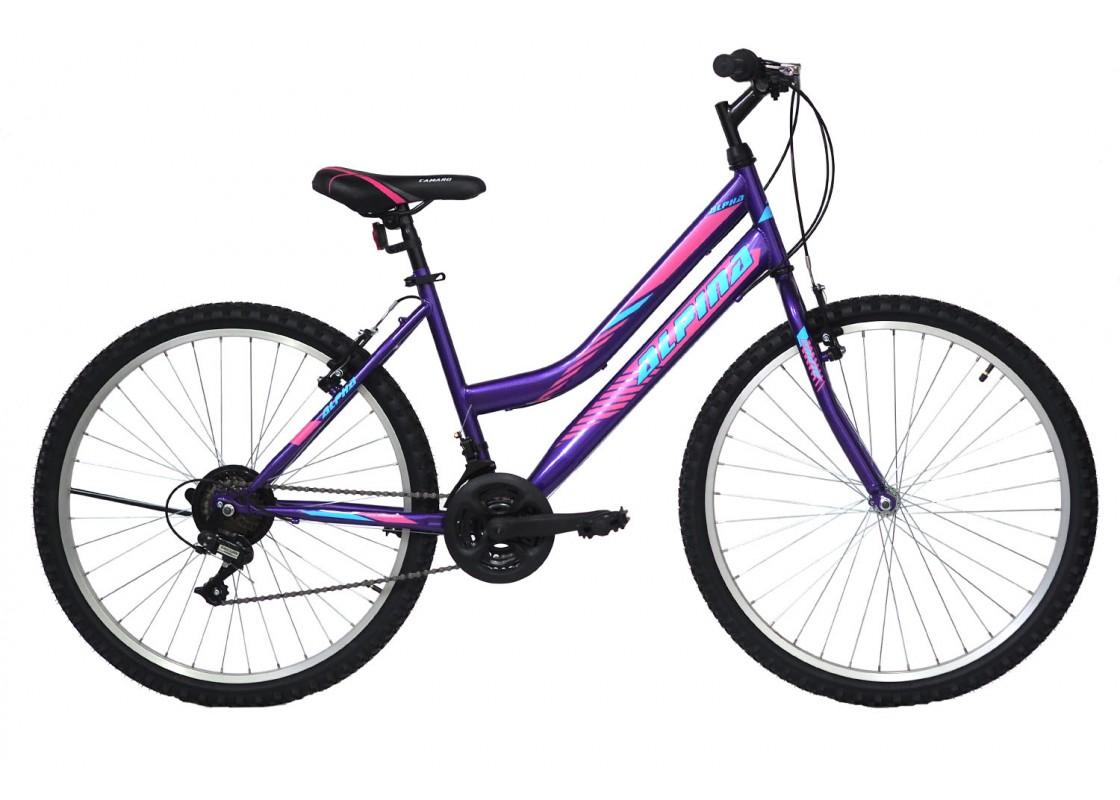 Alpina Alpha MTB 24x12 Purple Bikes zeussa.gr