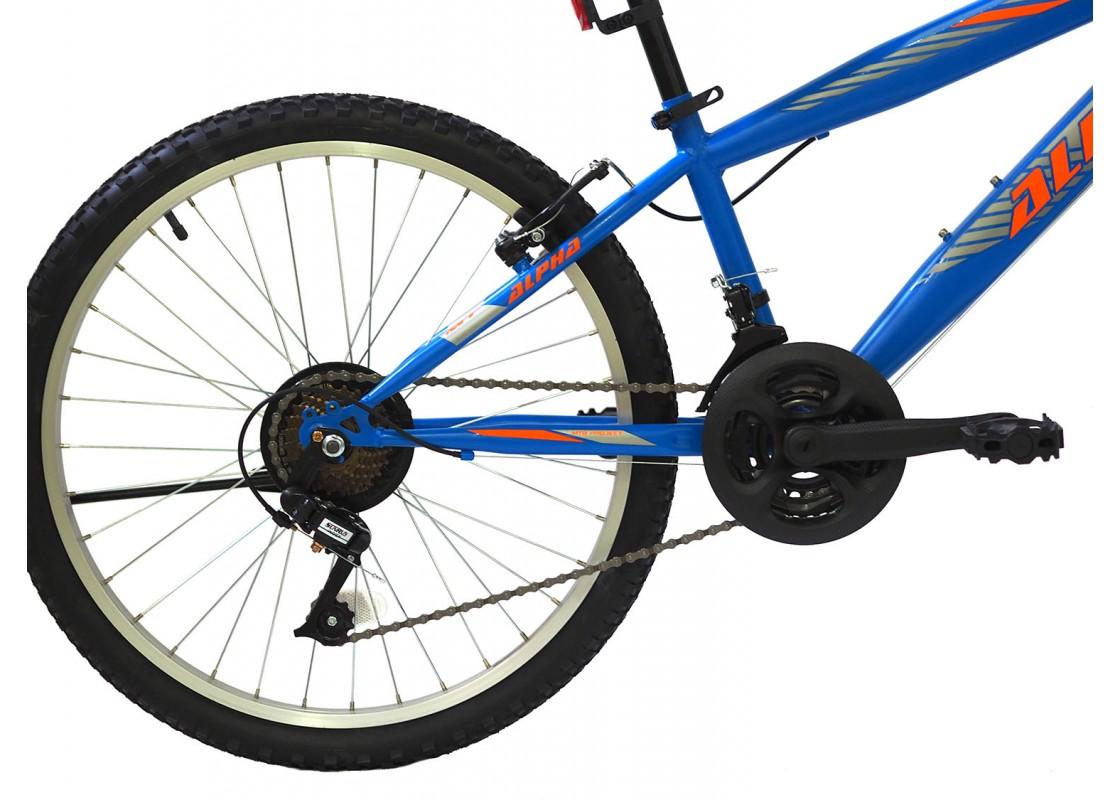 Alpina Alpha MTB 24x12 Blue Bikes zeussa.gr
