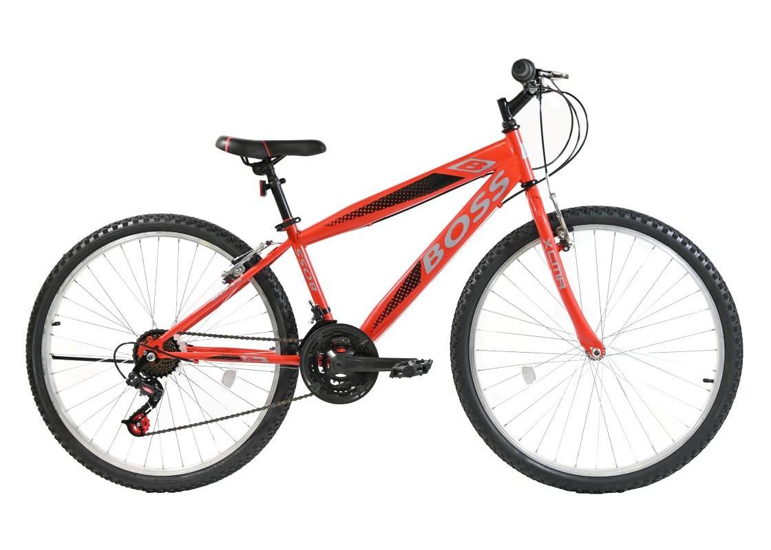 "Boss MTB 24"" Κόκκινο Ποδήλατα zeussa.gr"