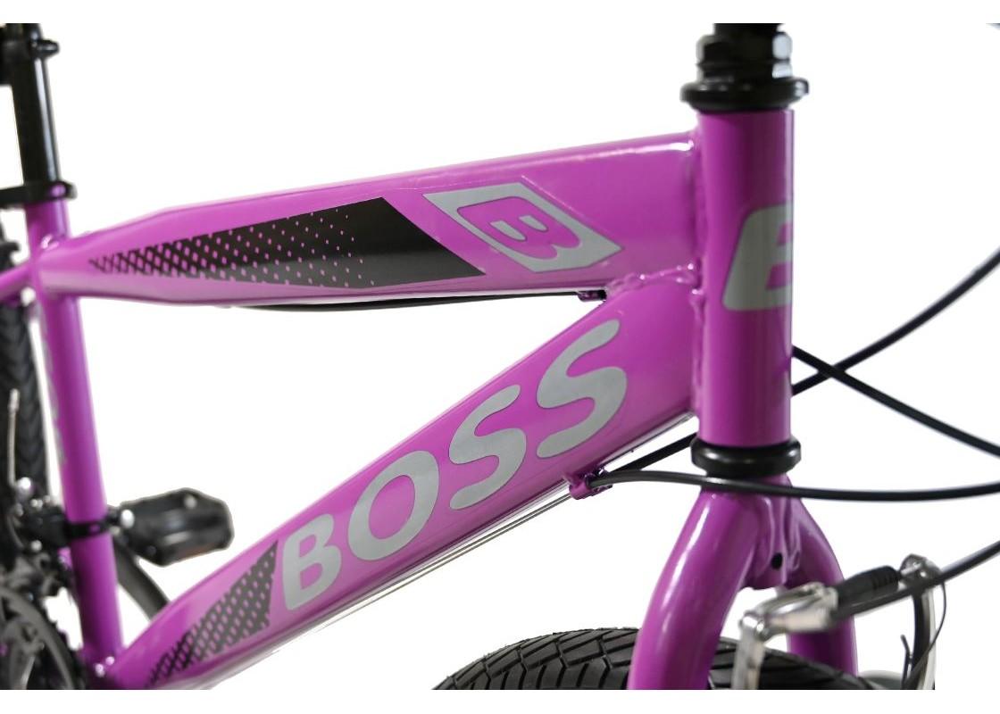"Boss S MTB 24"" Μωβ Ποδήλατα zeussa.gr"