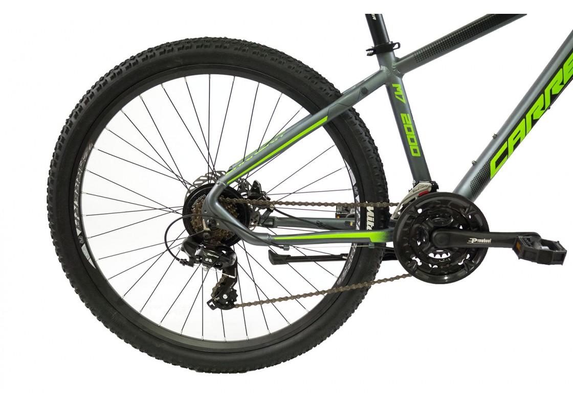 Carrera M7 2000 HD MTB 27.5x17 Γκρι-Πράσινο 2020