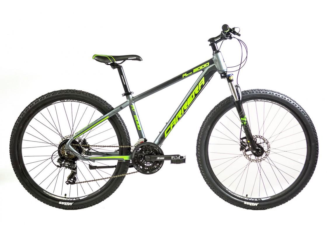Carrera M7 2000 HD MTB 27.5x15 Γκρι-Πράσινο 2020