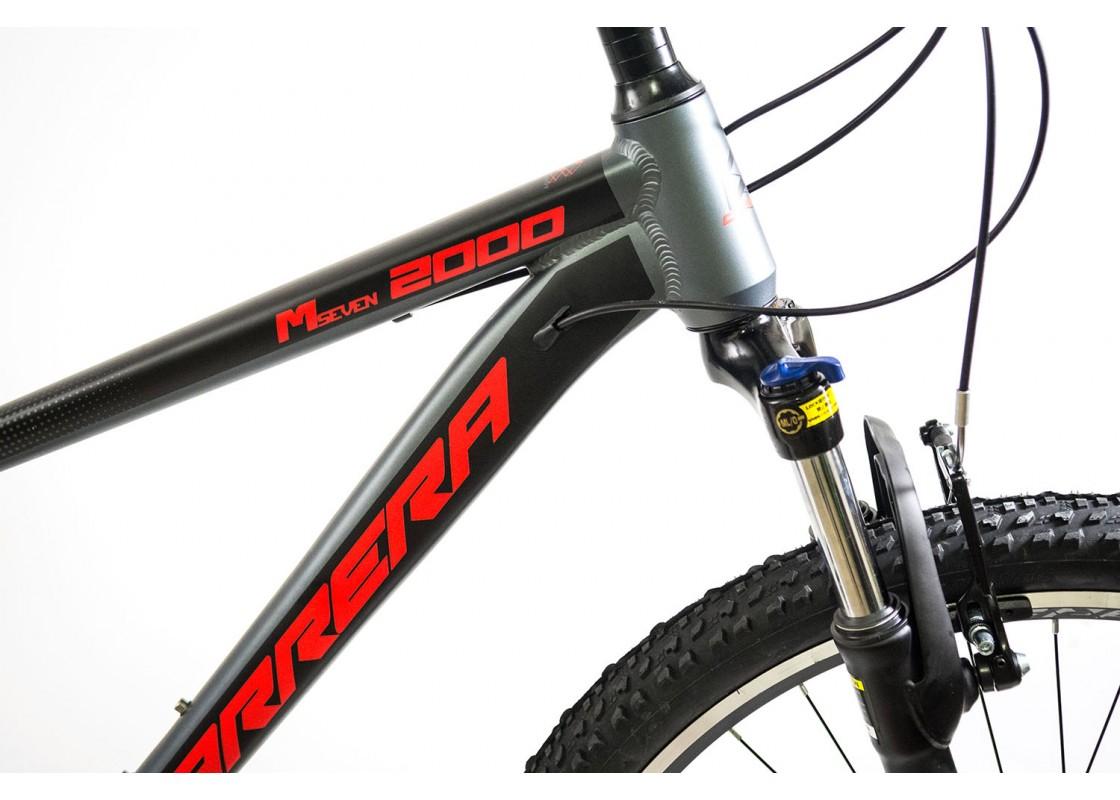 Carrera M7 2000 VB MTB 27.5x17 Γκρι-Κόκκινο 2020