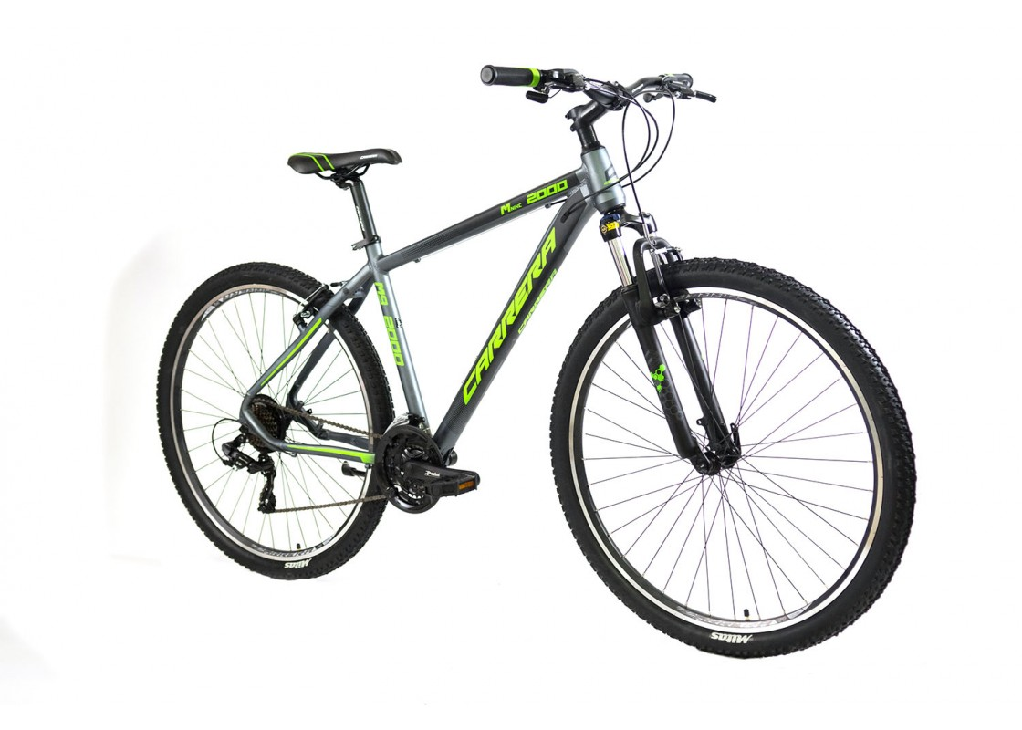 Carrera M9 2000 VB MTB 29x19 Γκρι-Πράσινο 2020