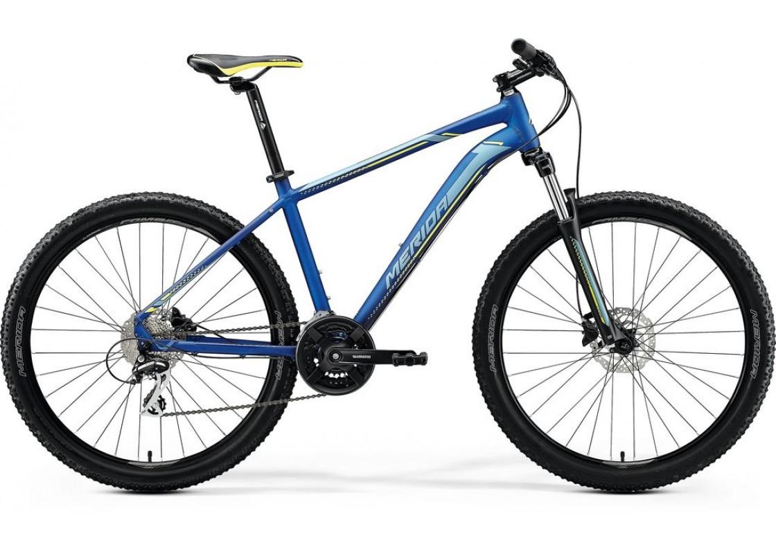 Ποδηλατα - Merida Big Seven 20D 27,5x17 Μπλε-Ασημί-Κίτρινο 2020 Ποδήλατα zeussa.gr