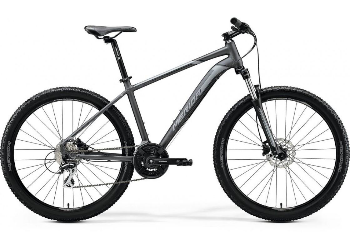 Ποδηλατα - Merida Big Seven 20D 27,5x19 Ανθρακί-Μαύρο-Ασημί 2020 Ποδήλατα zeussa.gr