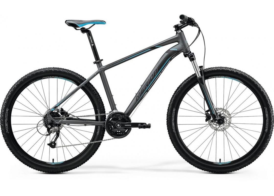 Ποδηλατα - Merida Big Seven 40D 27,5x17 Τυρκουάζ Γυαλυστερό  (Μαύρο-Ασημί) 2020 Ποδήλατα zeussa.gr