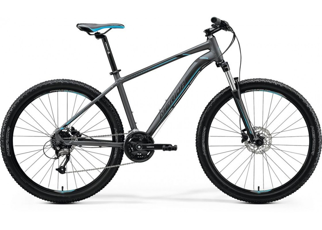 Ποδηλατα - Merida Big Seven 40D 27,5x19 Τυρκουάζ Γυαλυστερό  (Μαύρο-Ασημί) 2020 Ποδήλατα zeussa.gr