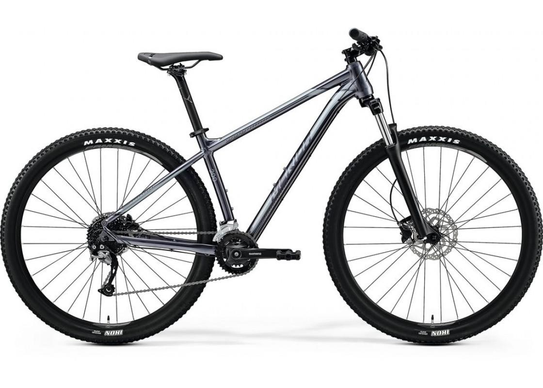 Ποδηλατα Βουνου - Ποδηλατα - Merida Big Nine 200 29x17 Ανθρακί Γυαλιστερό (Μαύρο-Ασημί) 2020 Ποδήλατα zeussa.gr
