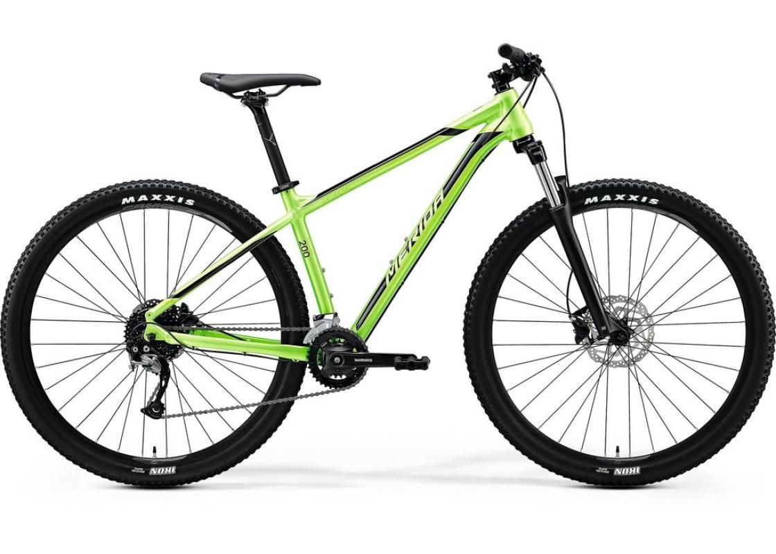 Merida Big Nine 200 29x18,5 Πράσινο Γυαλιστερό (Μαύρο) 2020