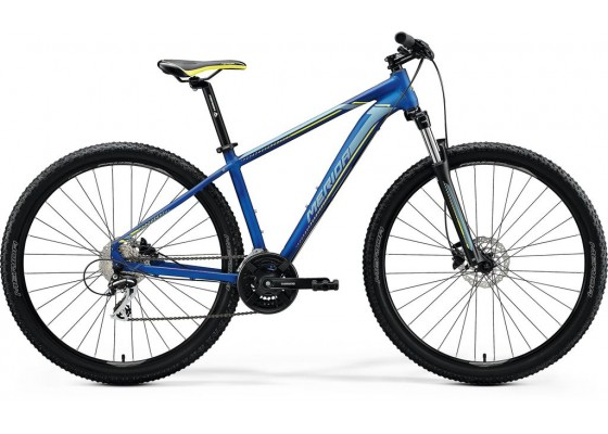 Merida Big Nine 20D 29x17 Μπλε-Ασημί-Κίτρινο 2020