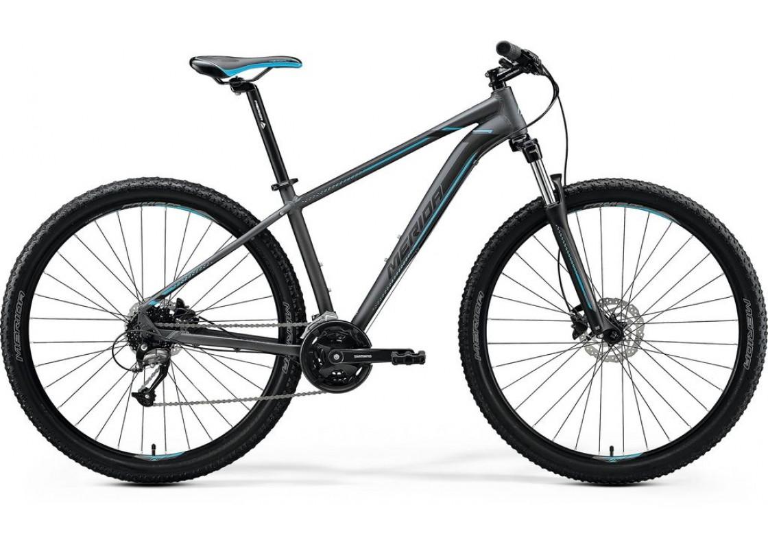 Ποδηλατα Βουνου - Ποδηλατα - Merida Big Nine 40D 29x18,5 Τυρκουάζ Γυαλυστερό  (Μαύρο-Ασημί) 2020 Ποδήλατα zeussa.gr