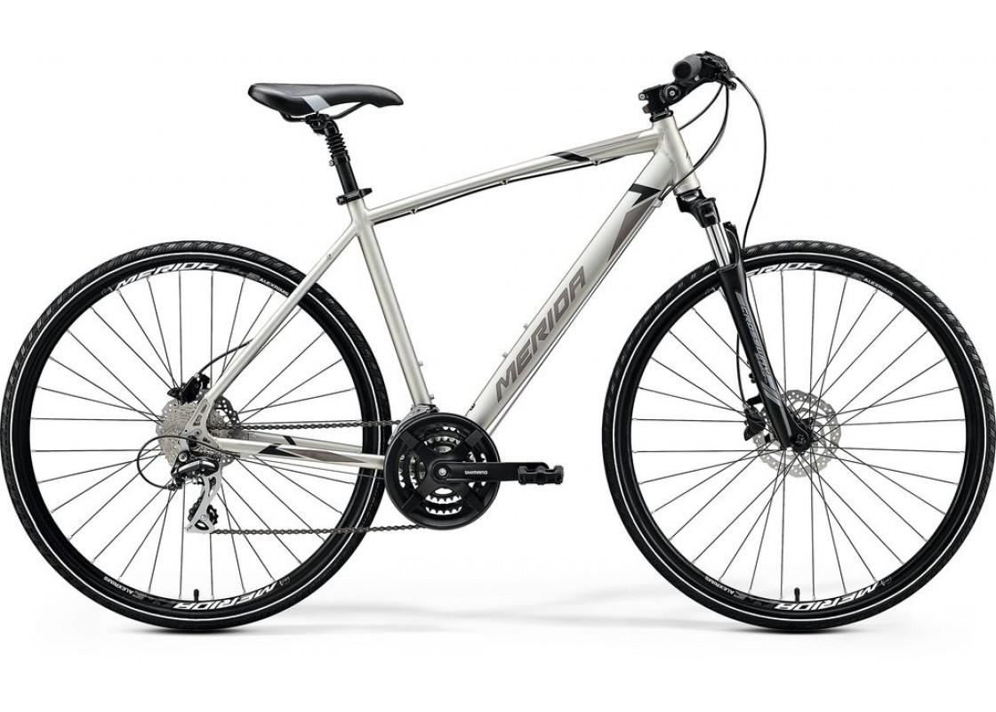 Ποδηλατα Δρομου Χωμα - Ποδηλατα - Merida Crossway 20D 700x52 Τιτάνιο (Μάυρο-Γκρι) 2020 Ποδήλατα zeussa.gr