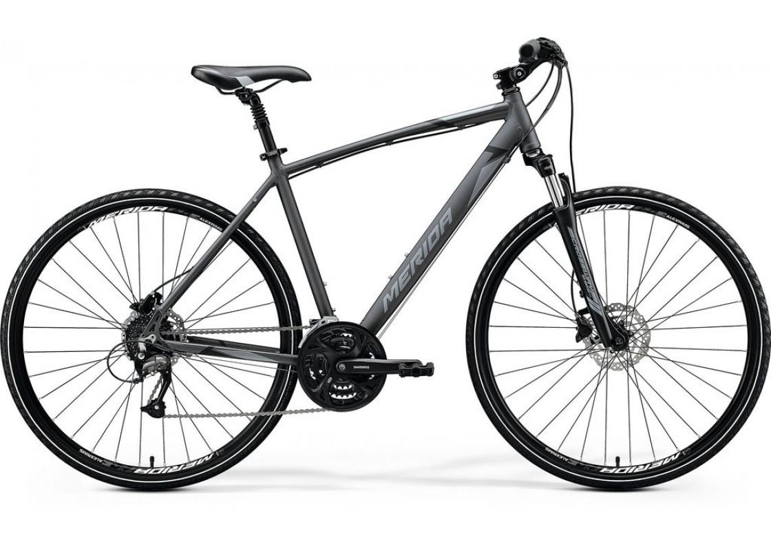 Ποδηλατα Δρομου Χωμα - Ποδηλατα - Merida Crossway 40D 700x48 Ανθρακί (Μάυρο-Ασημί) 2020 Ποδήλατα zeussa.gr
