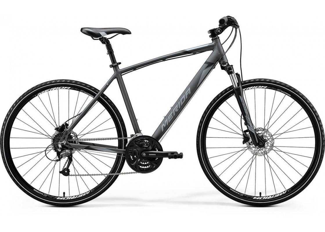 Ποδηλατα Δρομου Χωμα - Ποδηλατα - Merida Crossway 40D 700x52 Ανθρακί (Μάυρο-Ασημί) 2020 Ποδήλατα zeussa.gr