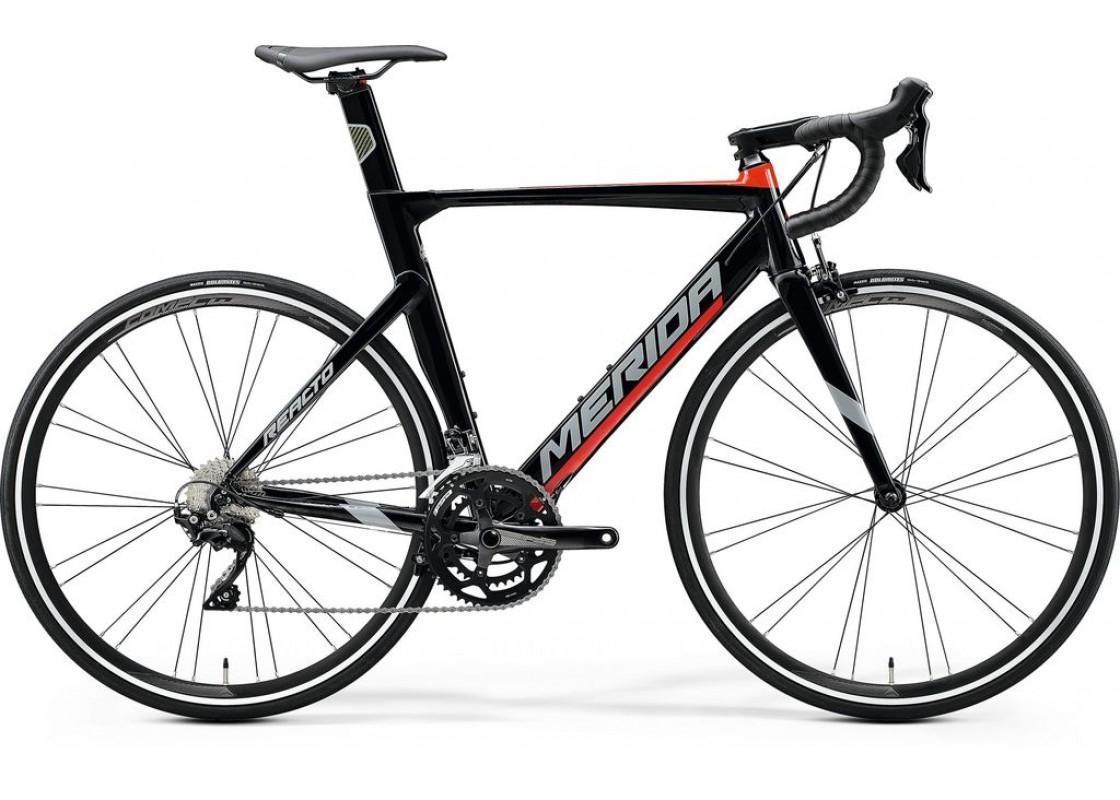 Merida Reacto 400 700x52 Glossy Black (Red) 2020 Ποδήλατα zeussa.gr