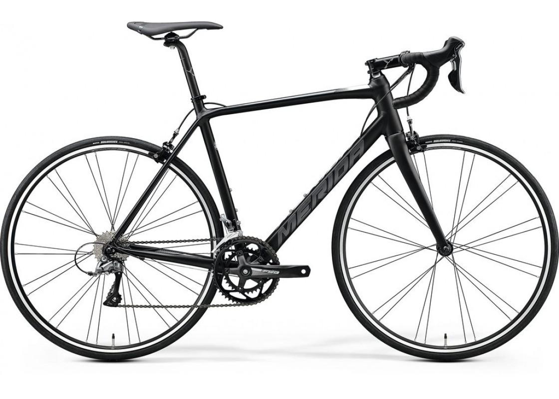 Ποδηλατα Δρομου - Ποδηλατα - Merida Scultura 100 700x52 Μαύρο Ματ (Άσπρο) 2020 Ποδήλατα zeussa.gr