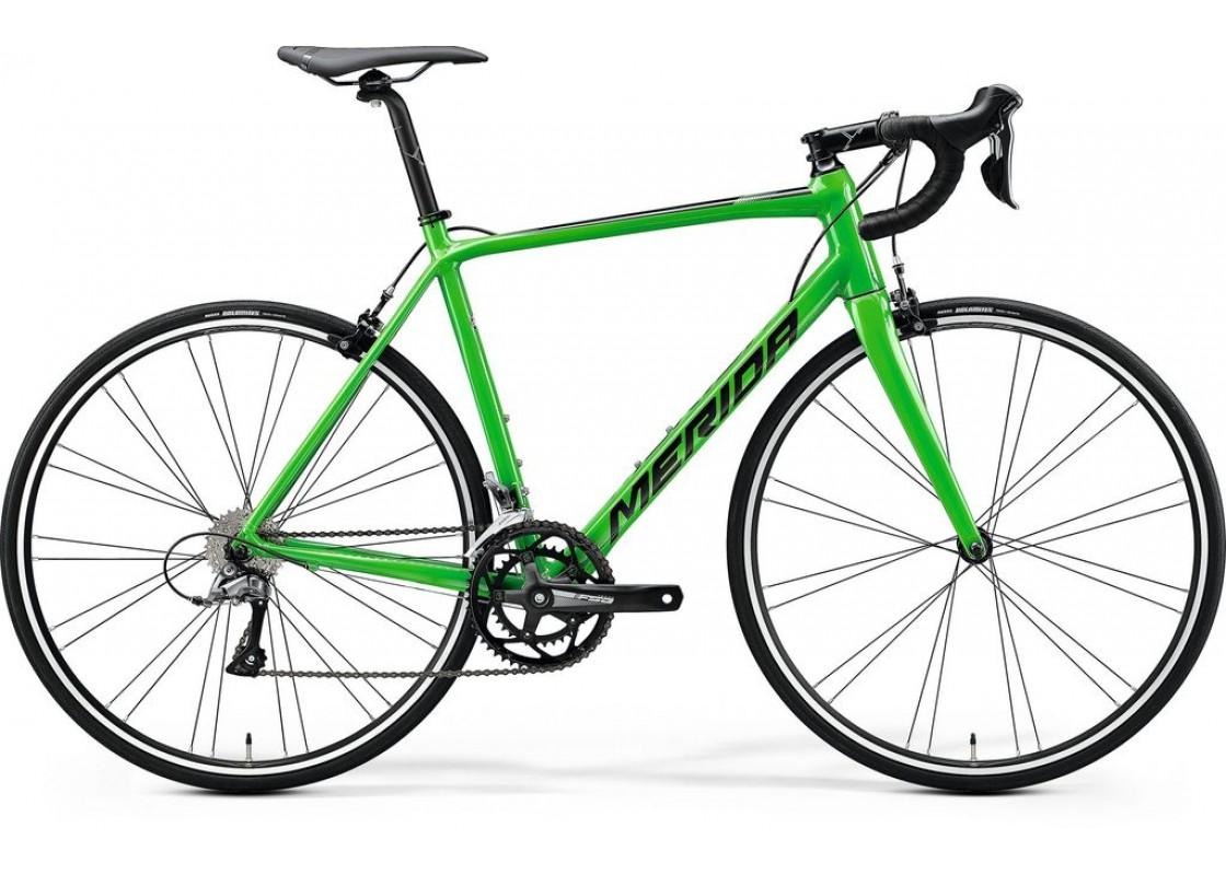 Ποδηλατα Δρομου - Ποδηλατα - Merida Scultura 100 700x56 Πράσινο Γυαλιστερό (Μαύρο) 2020 Ποδήλατα zeussa.gr