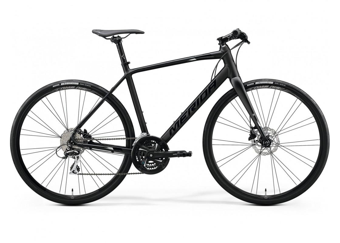 Ποδηλατα Δρομου Χωμα - Ποδηλατα - Merida Speeder 100  700x50  Μαύρο (Ασημί)  2020 Ποδήλατα zeussa.gr