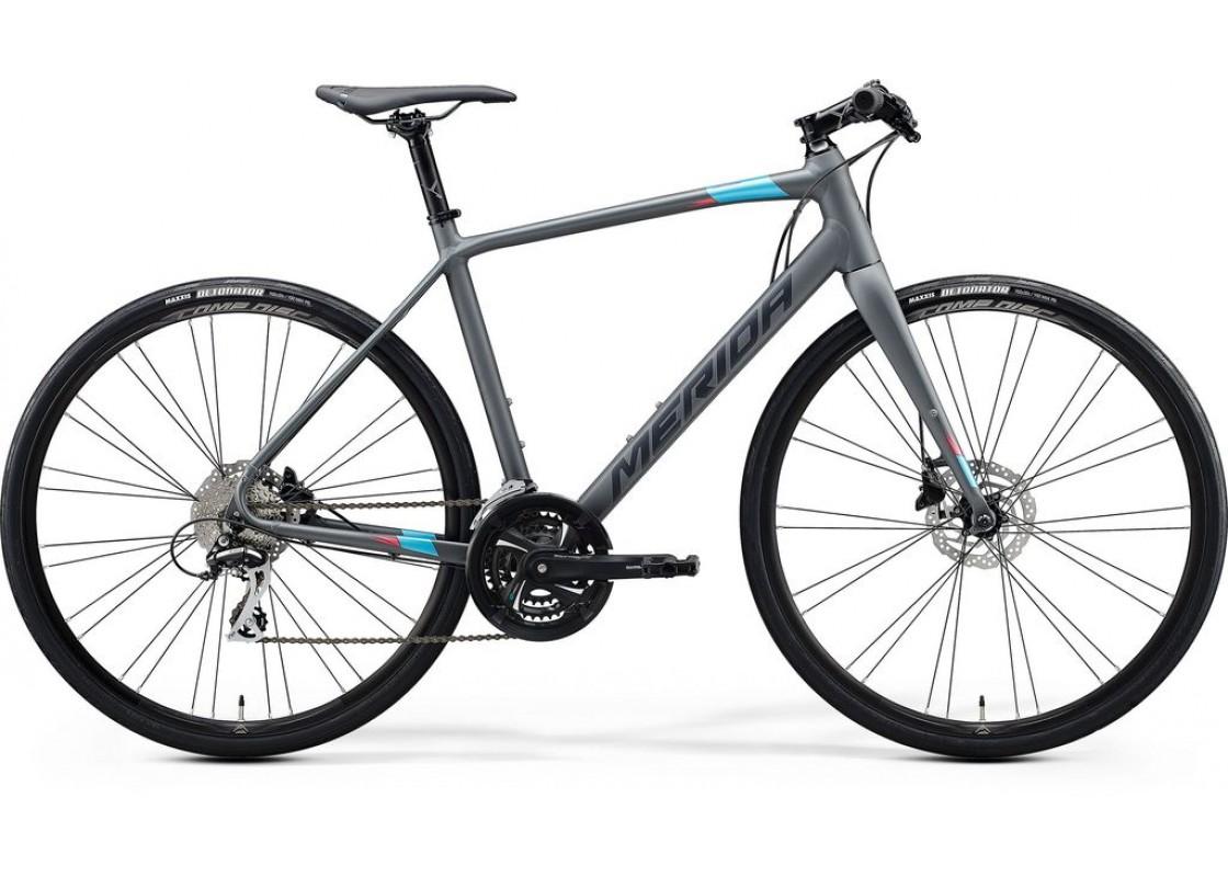 Merida Speeder 100  700x50 Γκρι (Μπλε-Ροζ)  2020