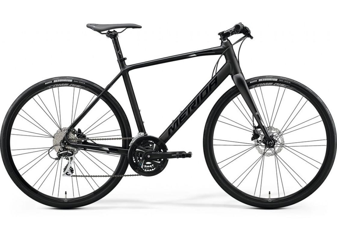 Ποδηλατα Δρομου Χωμα - Ποδηλατα - Merida Speeder 100  700x52  Μαύρο (Ασημί)  2020 Ποδήλατα zeussa.gr