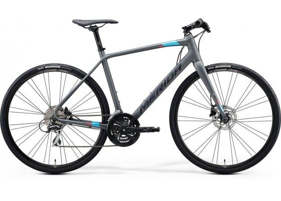Merida Speeder 100  700x52 Γκρι (Μπλε-Ροζ)  2020