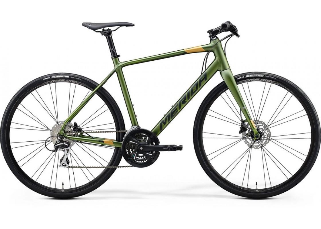 Ποδηλατα Δρομου Χωμα - Ποδηλατα - Merida Speeder 100  700x54  Πράσινο (Χρυσό)  2020 Ποδήλατα zeussa.gr