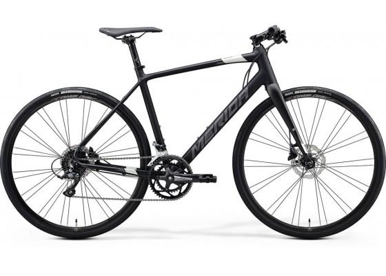 Merida Speeder 200  700x59  Μαύρο Ματ- Ασημί 2020
