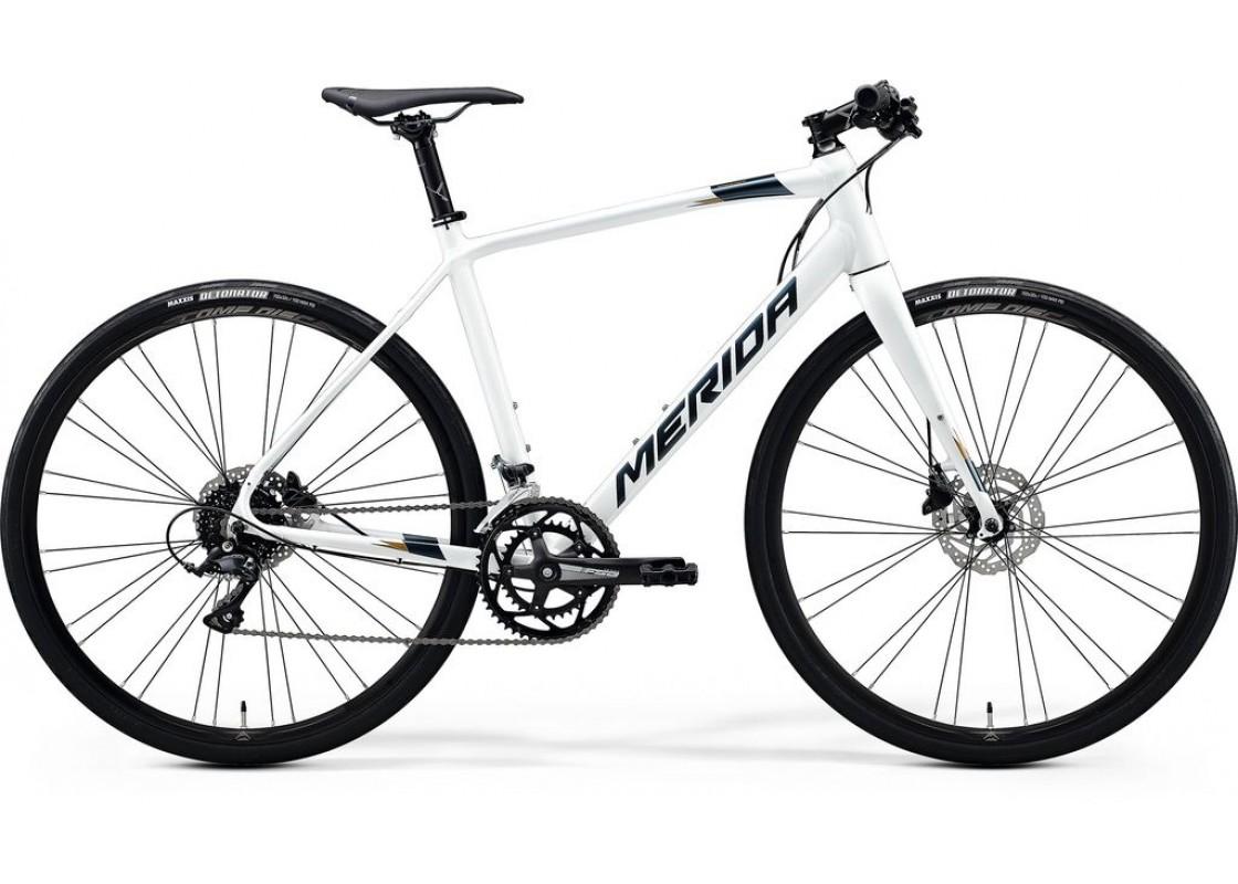 Ποδηλατα Δρομου Χωμα - Ποδηλατα - Merida Speeder 200  700x59  Ασπρο (Ασημί-Χρυσό) 2020 Ποδήλατα zeussa.gr