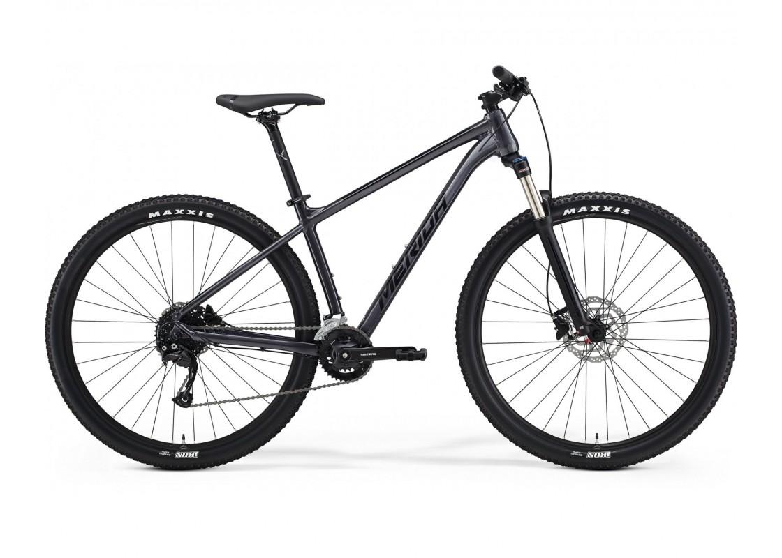 BIG.NINE 100-2x Ανθρακί-Μαύρο 29'' 17M Ποδήλατα zeussa.gr