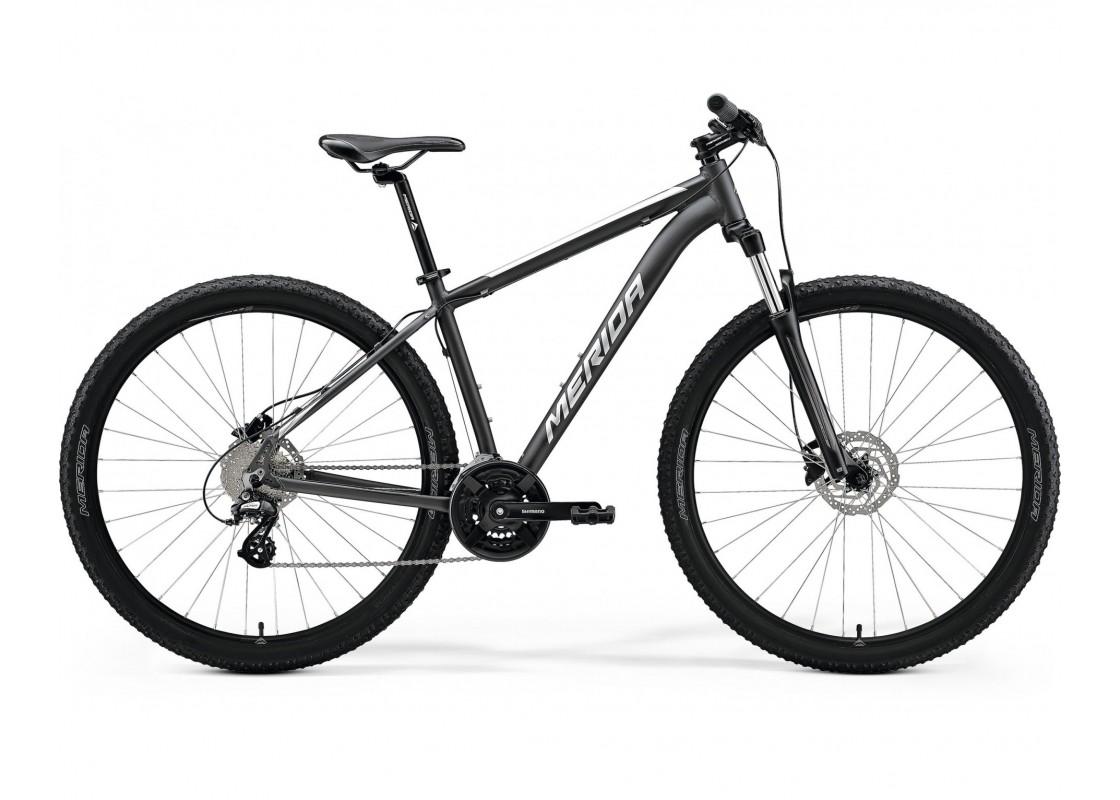 "BIG.NINE 15 Ανθρακί Ματ-Ασημί 29"" 19L Ποδήλατα zeussa.gr"