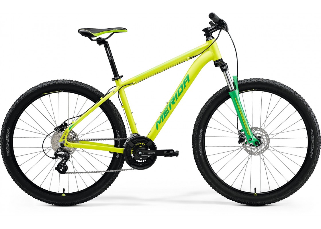 BIG 7 15 27.5X17M SILK LIME-GREEN Bikes zeussa.gr