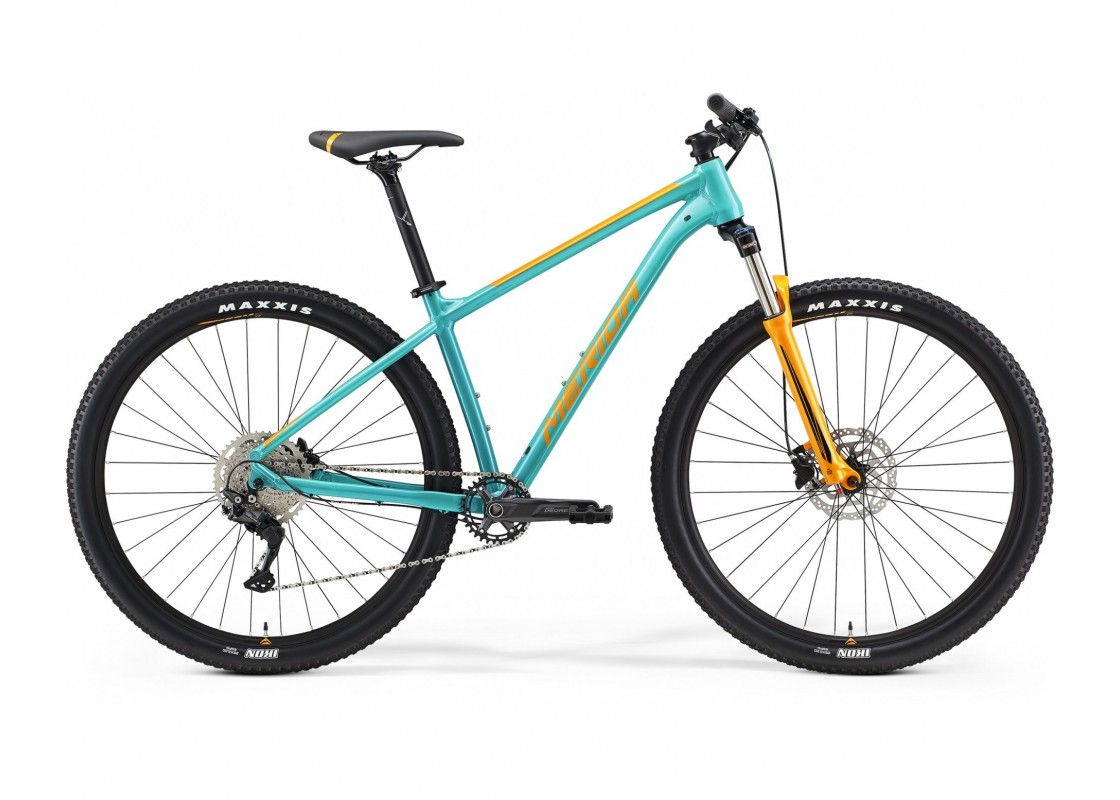BIG.NINE 200 Τιρκουάζ-Πορτοκαλί 29'' 17M Ποδήλατα zeussa.gr
