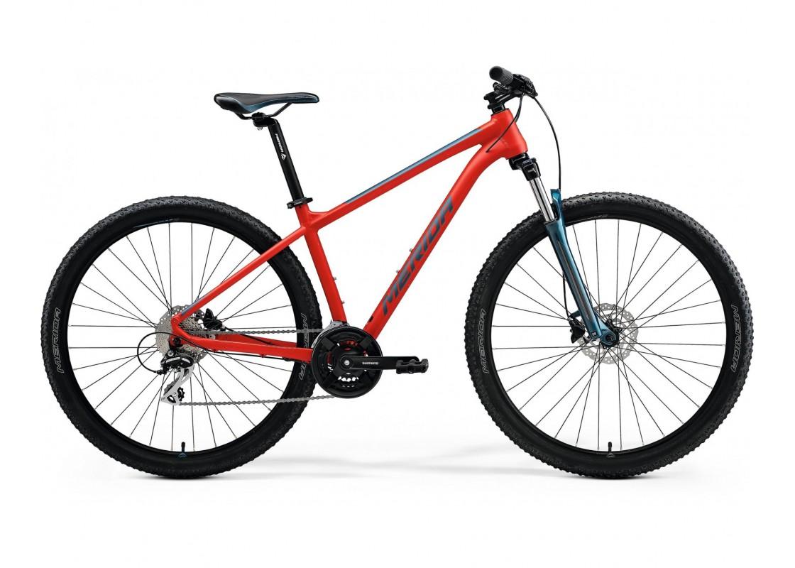 "BIG.NINE 20 Κόκκινο Ματ-Μπλε 29"" 17M Ποδήλατα zeussa.gr"