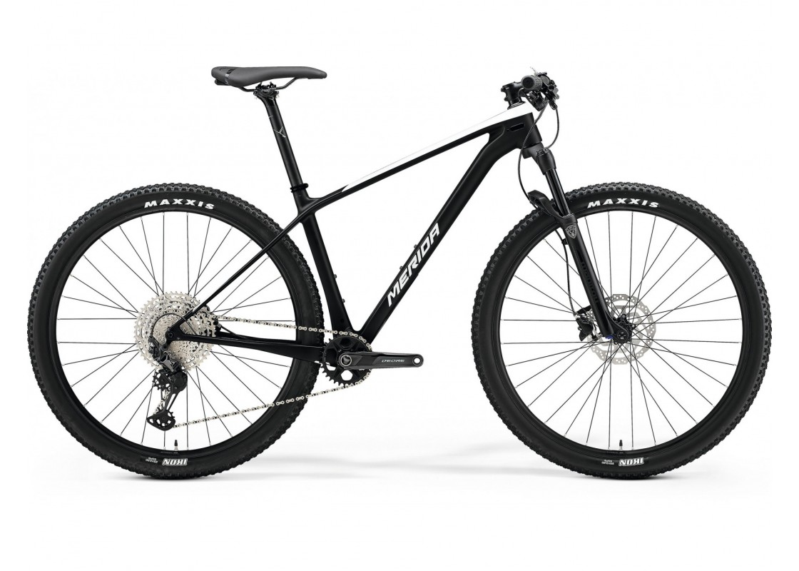 """BIG.NINE 3000 Λευκό Περλέ-Μαύρο Ματ 29"""" 17M Ποδήλατα zeussa.gr"""