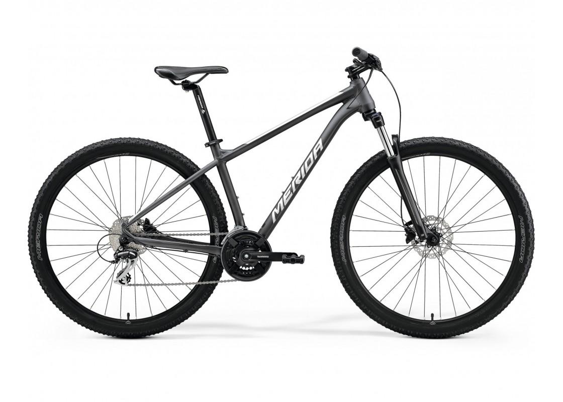 "BIG.NINE 20 Ανθρακί Ματ-Ασημί 29"" 22XXL Ποδήλατα zeussa.gr"