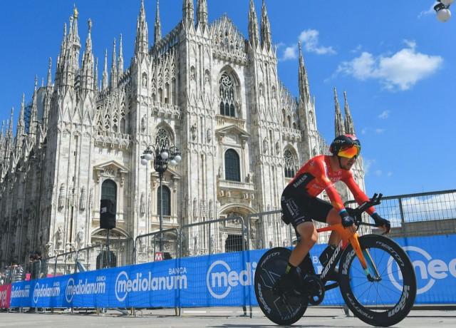 Caruso finishes Giro d'Italia in 2nd