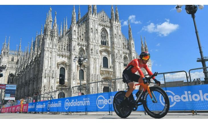 Damiano Caruso-Team Bahrain Victorious | 2η θέση στο Giro d'Italia