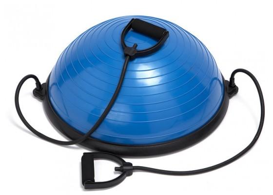 Pilates Balance Ball with cords 58 cm (DB 9770)