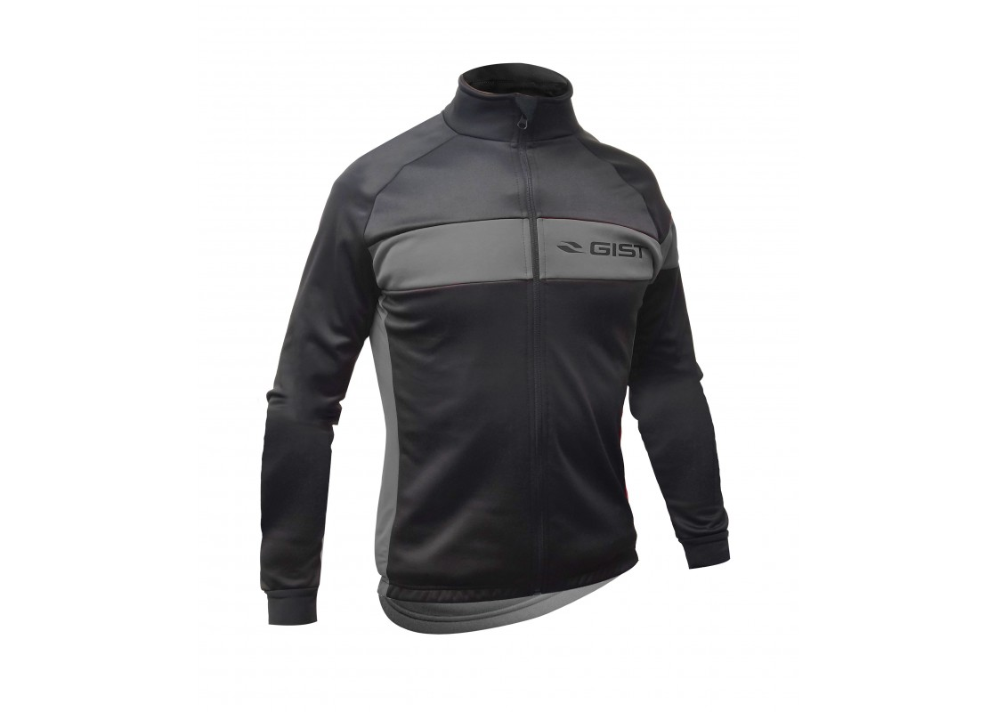 Μπλούζα Gist χειμερινή 5408 μαυρο/γκρι L Μπλούζες zeussa.gr