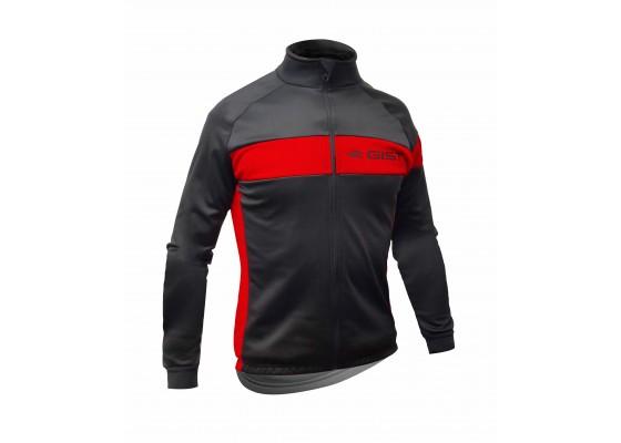 Μπλούζα Gist χειμερινή 5408 μαυρο/κόκκινο S
