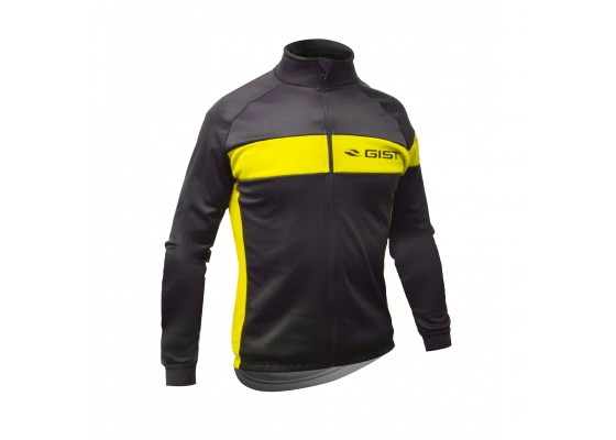 Μπλούζα Gist χειμερινή 5408 μαυρο/κίτρινο S