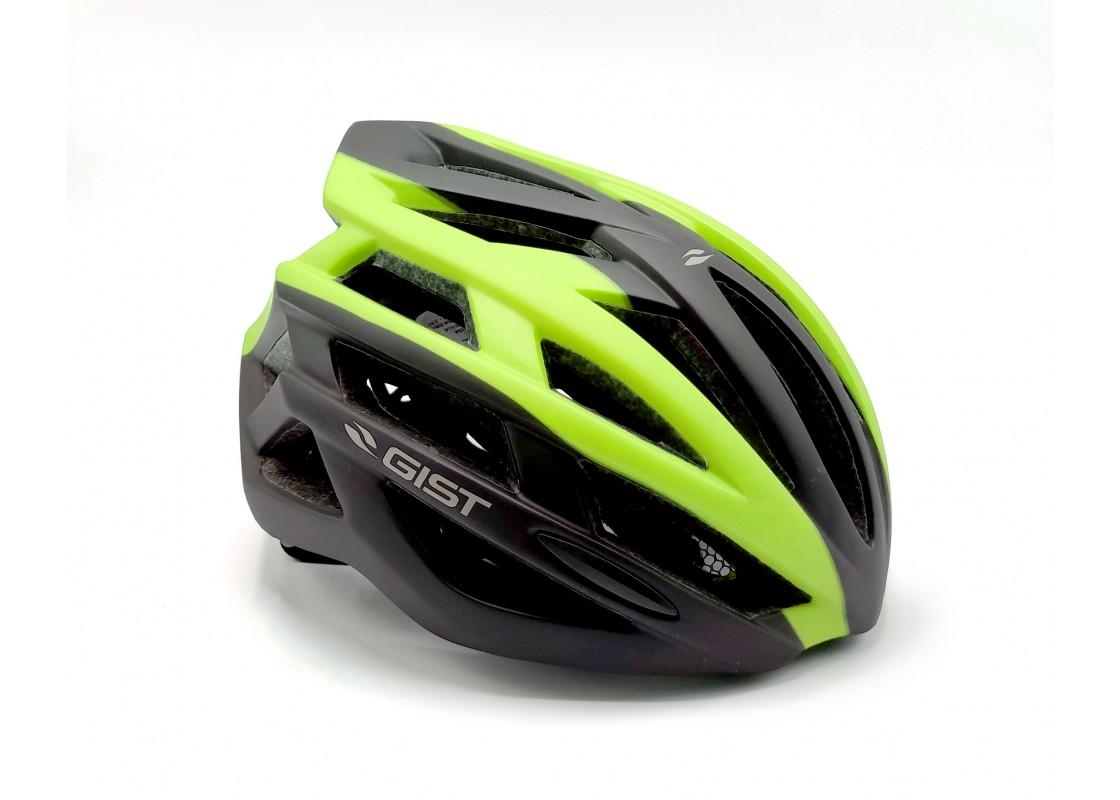 Helmet Planet Plus L-XL(56-62) matt blk/lime Helmets zeussa.gr