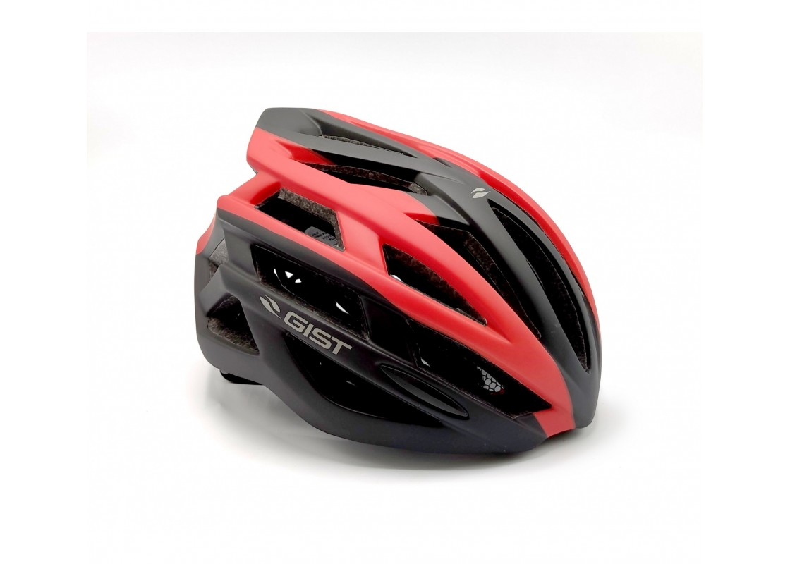 Helmet Planet Plus L-XL(56-62) matt blk/red Helmets zeussa.gr