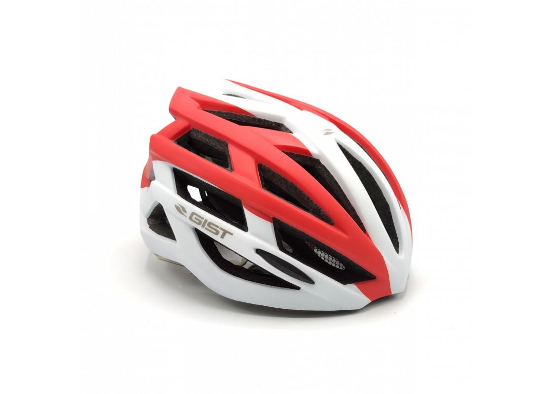 Helmet Planet Plus L-XL(56-62) white/red Helmets zeussa.gr