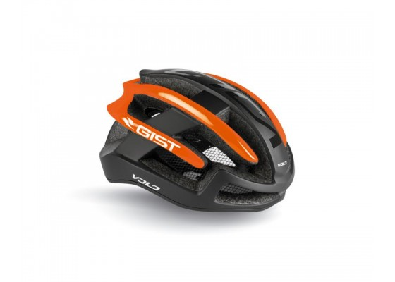 HELMET GIST VOLO L-XL(56-62) blk-orange